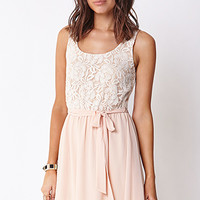 Hyperfemme Floral Lace Dress