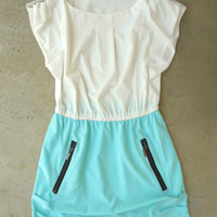 Tyrian Sailor Dress in Mint