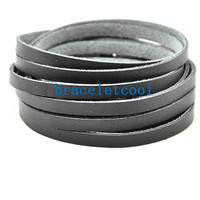 Soft Leather Women's Leather Jewelry Bangle Cuff Bracelet, 2 X Wrap Leather Bracelet Men's Wrap Bracelet C035