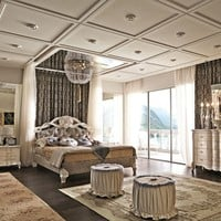 Bedroom set EMOZIONI Luxury Night Area Collection by Martini Mobili