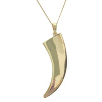 Tusk Pendant Necklace by Jules Smith
