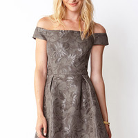 Cold Shoulder Daisy Dress