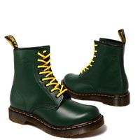 Dr. Martens 1460 Womens Boot in Green Smooth