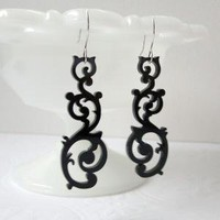 Swirl Earrings by Isette on Etsy