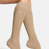 Ralph Lauren Cable Knit Knee High Socks | Nordstrom