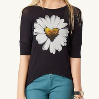 Heart Daisy Dolman Top | Get Graphic | rue21