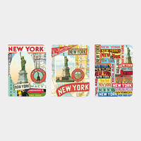 Vintage New York Mini Notebooks | MoMA