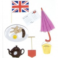Sticker kit - British from Clever Little Ideas Ltd | Made By Clippy Kit London | £10.00 | BOUF