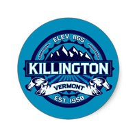 Killington Stickers
