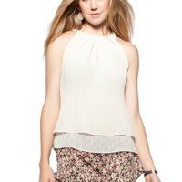 Costa Blanca Halter Top