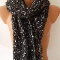 Christmas Gift Men's Fashion Scarf, Men's Accessories, Neck Warmer, 2014 Handknitted