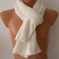 Ivory Christmas Gift Men's Fashion Scarf, Men's Accessories, Neck Warmer, 2014