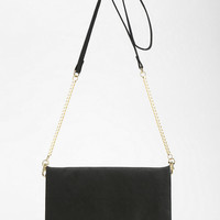 Violet Ray Gold Bar Clutch - Urban Outfitters