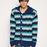 Humor Manny Button Through Sweater at ASOS
