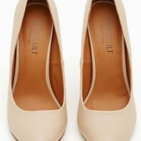 Shoe Cult Minx Pump - Nude