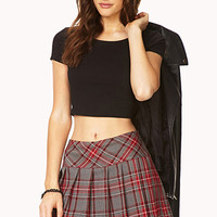 Prep School Plaid Skort
