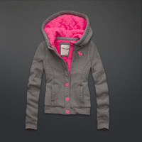 quilted cozy fleece jacket