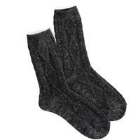AEO CABLE SHINE SOCK