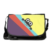 Cute Cartoon Character Colorful Messenger Bag