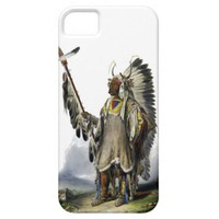 Native American Indians - A Mandan Chief iPhone 5 Case
