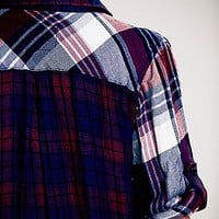 Rails Mix Plaid Buttondown Shirt