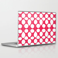 Holiday Bobbles - Festive Red Laptop & iPad Skin by Heather Dutton
