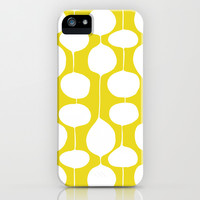 Holiday Bobbles - Festive Green iPhone & iPod Case by Heather Dutton