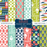 Remix Holiday Gift Wrap Collection | Flickr - Photo Sharing!