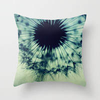 feeling the blues Throw Pillow by ingz