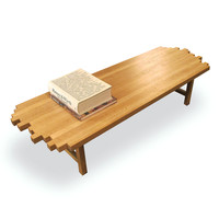 White Oak Coffee Table