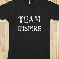 TEAM INSPIRE IS A WAY OF LIFE SHIRT