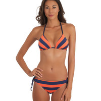 Reversible Tri Top | Tunnel Bottom | Designer Swimwear