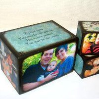 Personalized Photo Decorative Blocks/ Family Album Sets - New Creation Blocks