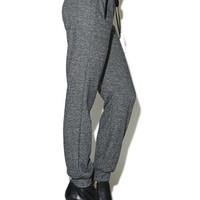 Heather Knit Jogger Pant | Arden B.