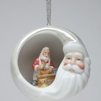 Santa's Workshop Christmas Tree Ornaments, Set of 4 - Seasonal & Holiday Decorations