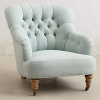 Corrigan Chair by Anthropologie Green One Size Furniture