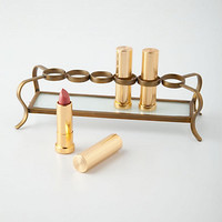 Vestige Lipstick Holder by Anthropologie Gold One Size Bath