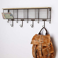 Wire Wall Cubby by Anthropologie Dark Grey One Size Hardware