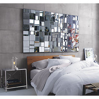 perspective mirror in mirrors | CB2