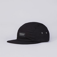Flatspot - Rip N Dip 5 Panel Camp Cap Black
