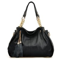 Stylish Tassels Cross Body Messenger Bag Handbag