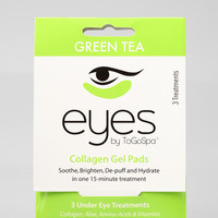EYES by ToGoSpa Green Tea Collagen Gel Eye Pads	 - Urban Outfitters