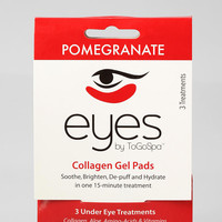 EYES by ToGoSpa Pomegranate Collagen Gel Eye Pads - Urban Outfitters