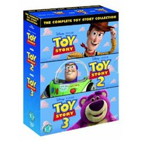 Toy Story 1-3 Box Set [UK Region 2 DVD] (2012)