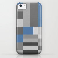 White Rock Blue iPhone & iPod Case by Project M