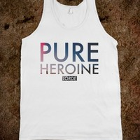 LORDE TANK TOP PURE HEROINE