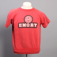 Vintage 50s CHAMPION Running Man SWEATSHIRT / Emory University, m - l
