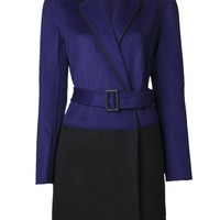 DIANE VON FURSTENBERG 'Logan' mixed coat