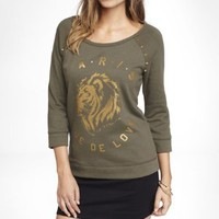 SPIKED GRAPHIC SWEATSHIRT - RUE DE LOVE