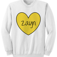 NEW - Zayn Heart Crewneck